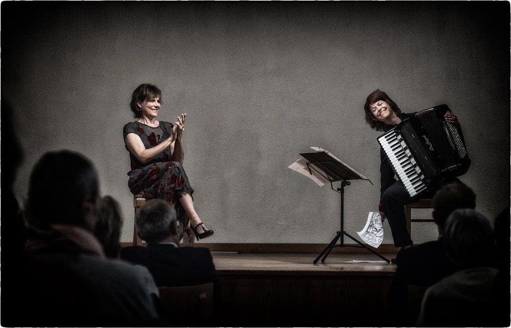 Salome Kammer und Maria Reiter
