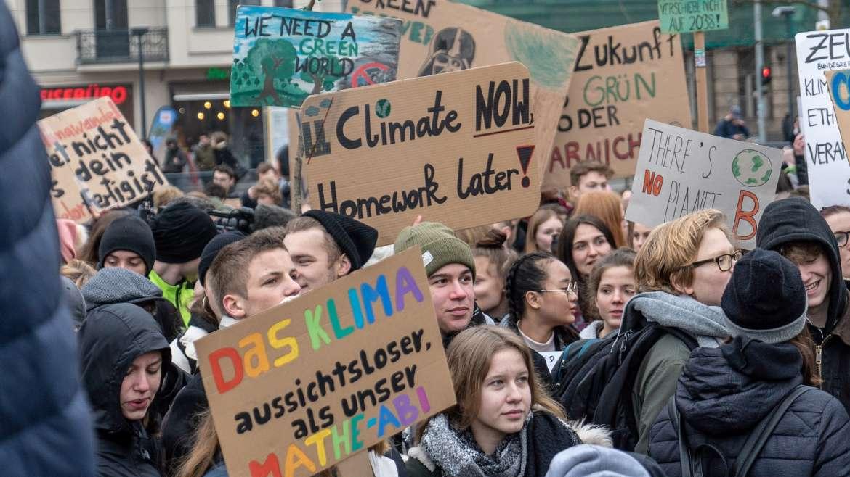 Schülerstreik für das Klima